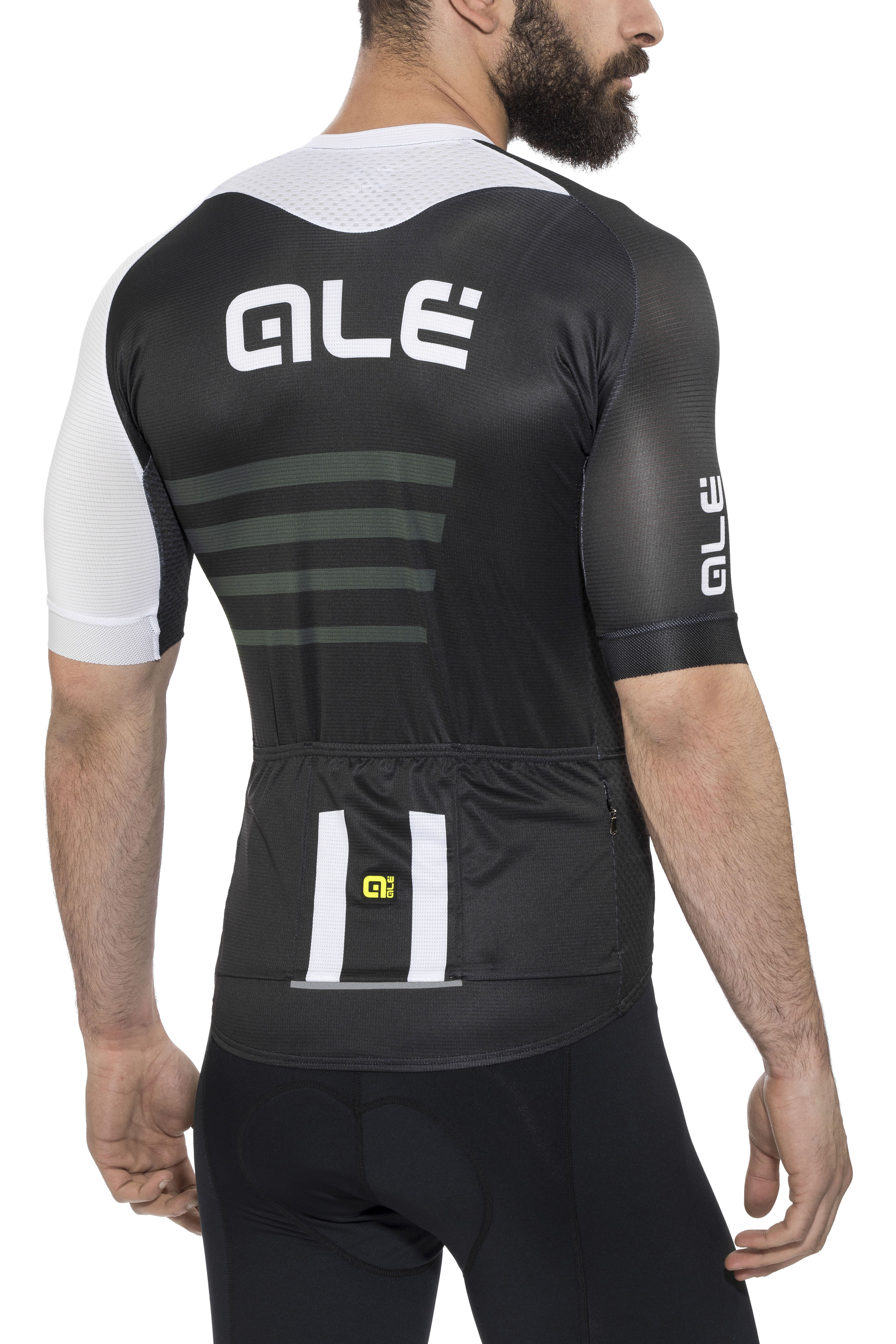 6c51b882e Alé Cycling PRR 2.0 Piuma Bike Jersey Shortsleeve Men white black at ...